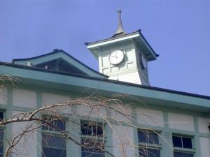 栃木市役所別館の時計台