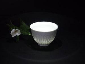 白磁煎茶碗